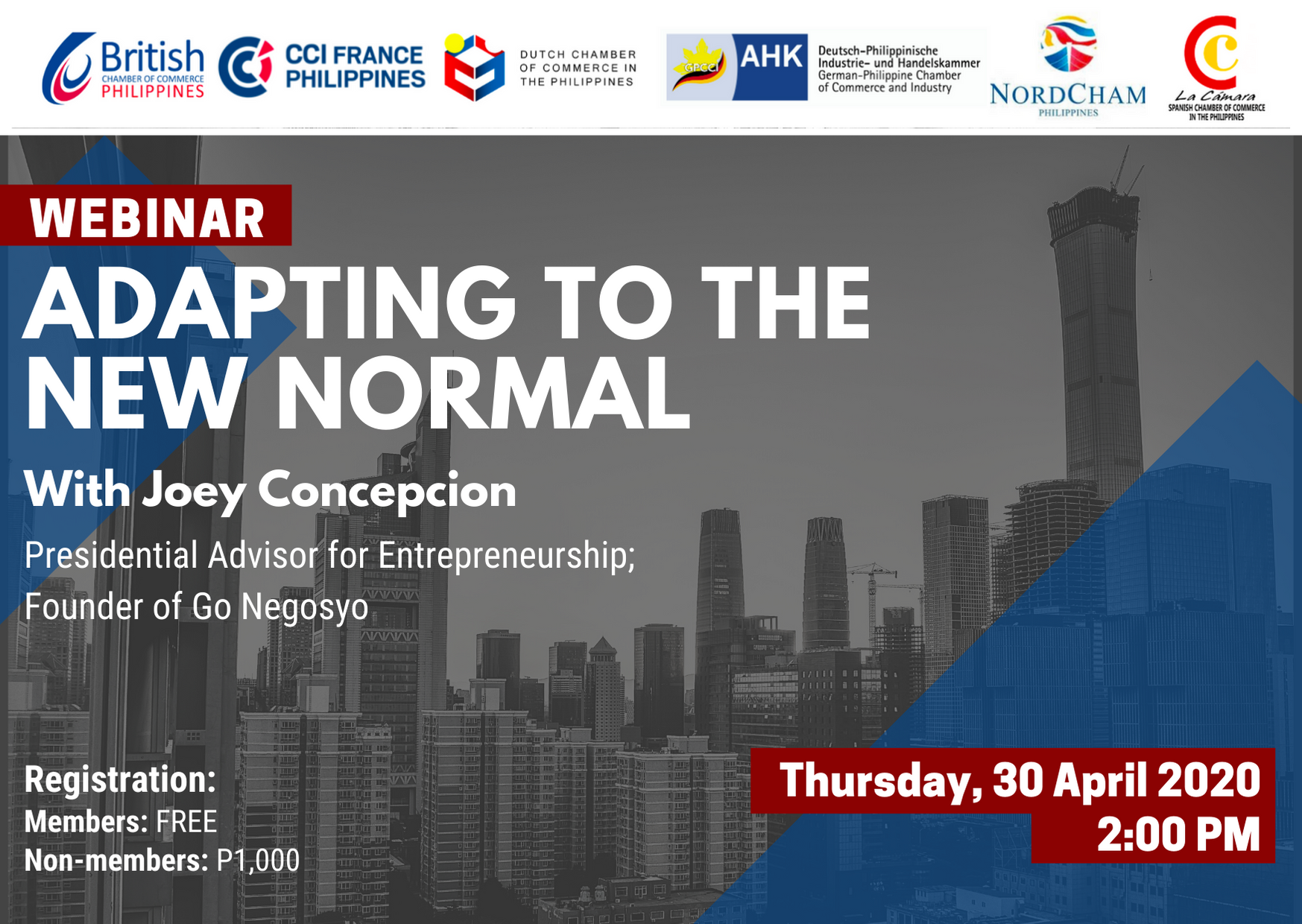 Adapting To The New Normal With Joey Concepcion Dccp